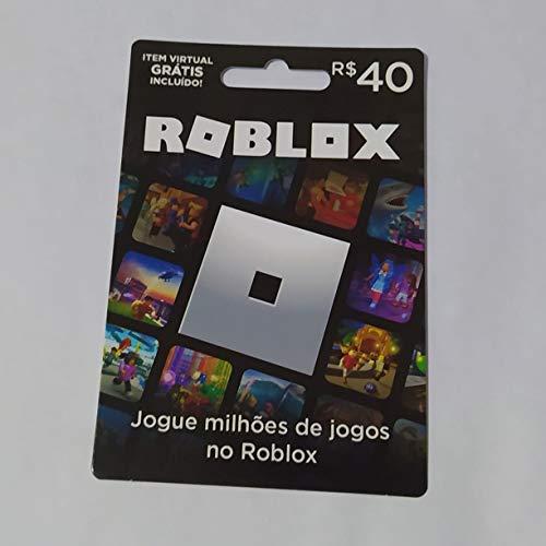 Cartão Presente Roblox R$ 40 Reais