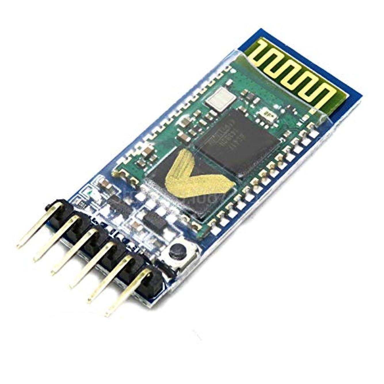 力強いピグマリオンアラート1 個 HC05 HC-05 マスタースレーブ 6pin JY-MCU アンチリバース、統合された Bluetooth シリアルパススルーモジュール、ワイヤレスシリアル