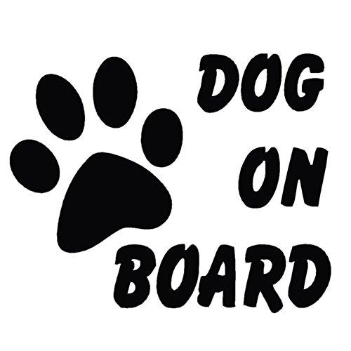 Demiawaking Baby Haustier Hund an Bord Auto ctyling Stilvolle niedliche Auto Aufkleber Reflektierende Viny Aufkleber