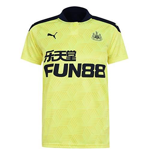 PUMA Mujer Newcastle United Alternativo Camiseta 20/21 Amarillo Efervescente 36