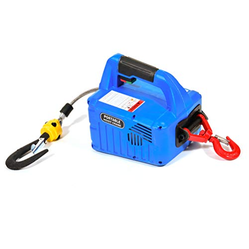 Why Should You Buy SCITOO 500KG Mini Overhead Portable Electric Hoist Lift Crane Garage Engine Hoist...