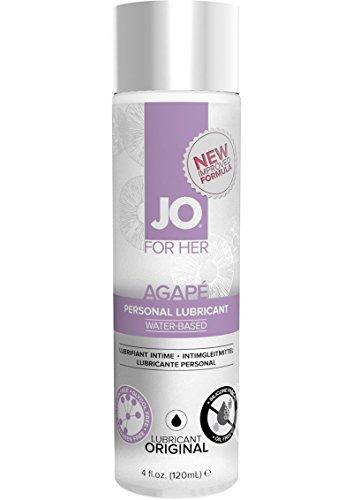 System Jo Women's Agape Lube No Glycerine/oil/silicone - 4 Oz by System Jo International