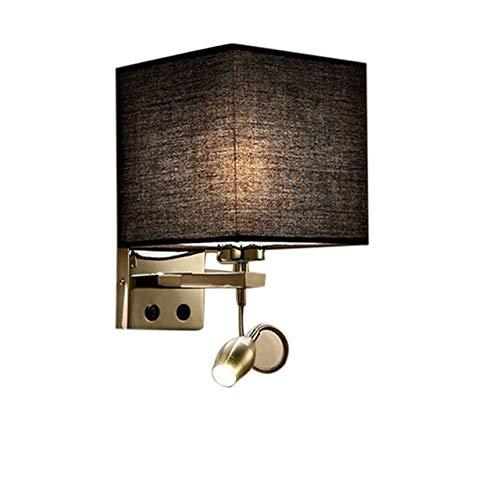 YCAZSH nachtlampje Moda LED wandlamp Sconce Casa Corridoio slaapkamer nachtkastje hotel Villa Lights