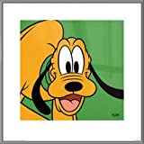 Jigsaw Puzzles 1000 Pluto - Framed Disney Art Print/Poster (Green) (Mickey Mouse)