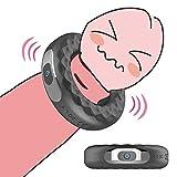 YRET Anello Vibrante per Il Pene per Coppia Vibbratore Massager, Anello Vibratore Uomo Pene Vibratori Anelli Sessuali Massaggiatore Uomo Silicone Massaggio
