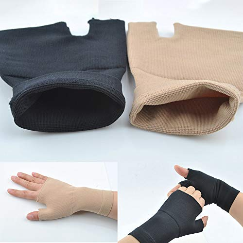 No brand AGBFJY Gloves Thumb Joint Pain Sprain Hand Instability Wrist Support Corrector Compression Sleeve Movement Arthritis Elasticity
