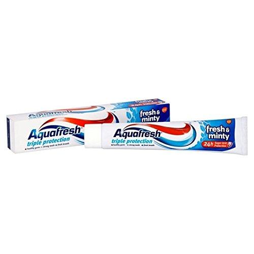 Aquafresh Frisch N Minzig Zahnpasta 75Ml (Packung mit 4)