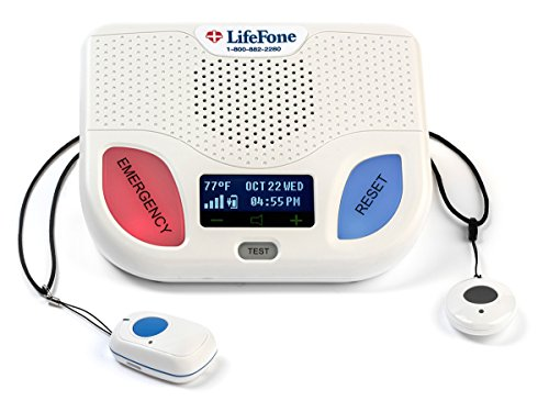 Why Should You Buy LIfeFone - at Home Cellular Pendant with Fall Detection with 3 Month Plan