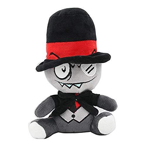 N/D Peluche TV Villainous Black Hat Peluche Muñeco de Peluche Suave 20cm