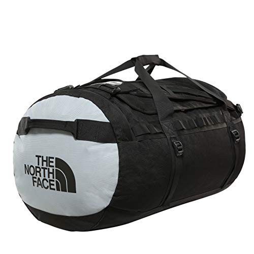 The North Face Gilman Duffel Bag - Black/Mid Grey, Size Large