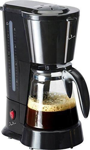 JATA CA288 - Cafetera (Cafetera de filtro, De café molido, 600 W, Negro)