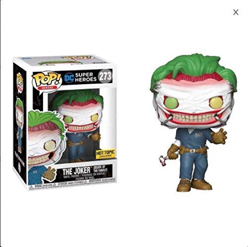Nobranded Funko Pop Suicide Squad Harley e Joker # 273 muñecas Vinyl Figures Superhero Hot Topic Figurine Toys Children Gift