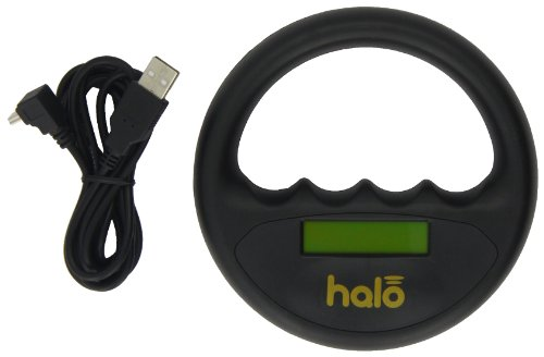Pet Technology Store - Mikrochip Scanner Halo Für Haustiere MID06 (Nicht in Box) - 135mm Durchmesser X 33mm, Schwarz in Trageetui