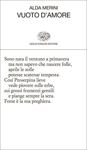 Vuoto d'amore (Collezione di poesia Vol. 224)