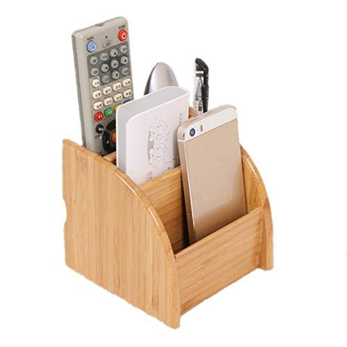 PhantomSky Creativa Caja de Almacenaje de Bambú Natural Oficina...