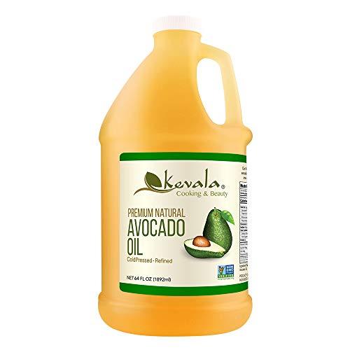 Kevala Premium Natural Avocado Oil, 1/2 Gallon (Naturally Refined)