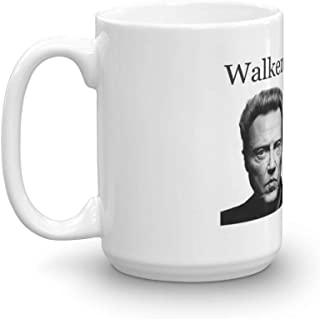 Walken with Jesus. 15 Oz Coffee Mugs With Easy-Grip Handle, Suitable For Hot And Cold Drinks. Can Be Used For Home And Office