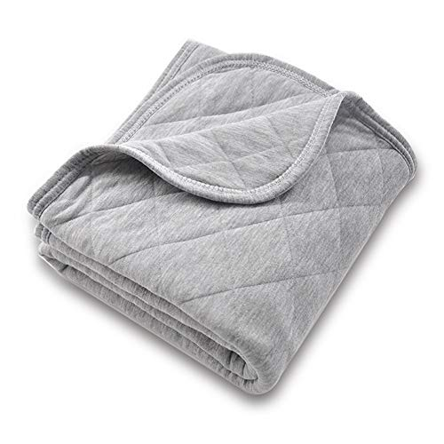 Organic Cotton Baby Blanket for Boys and Girls, Super Soft...