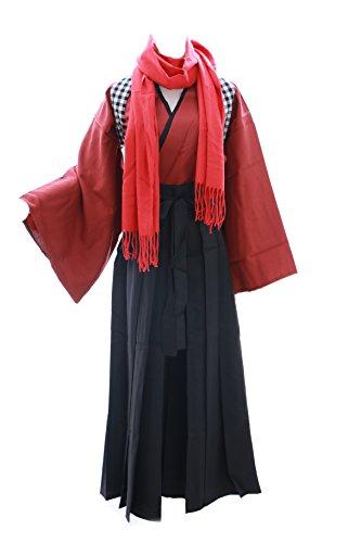 Kawaii-Story MN de 10Rojo Negro kashuu kiyom ITSU Touken Ranbu Kendo Kimono Cosplay Costume