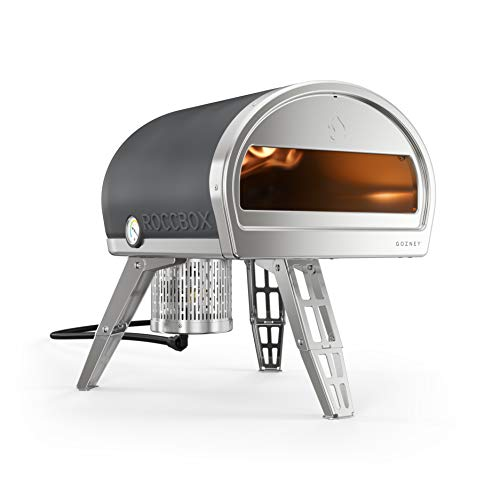 ROCCBOX by Gozney Portable Outdoor Pizza Oven - Gas Fired, Fire & Stone Outdoor Pizza Oven, Includes Professional Grade...