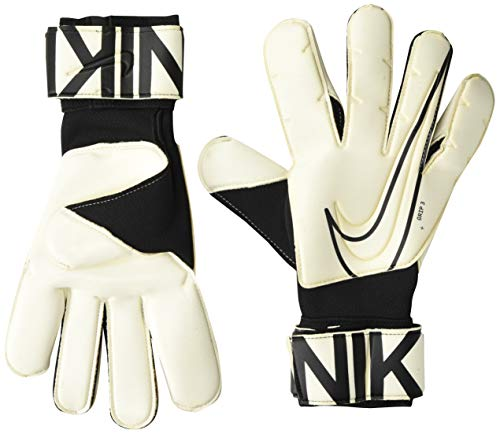 Nike Unisex-Adult Grip3 Goalkeeper Glove Liners, White/Black, 7