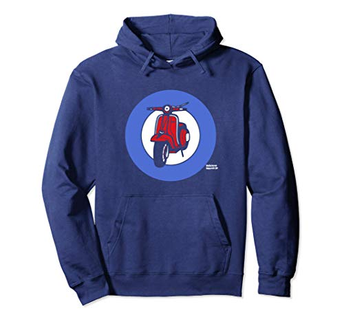 Mod Subculture - Northern Soul - Scooterist / Scooter Boy Sudadera con Capucha