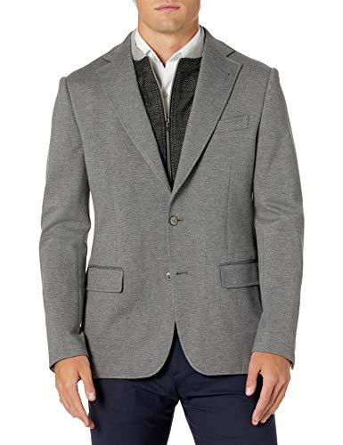 Amazon Brand - Goodthreads Men's Slim-Fit Stretch Twill Blazer, Olive, Large