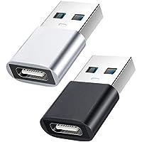 2-Pack Female Mini USB Type-C to Male USB 3.1 Adapter