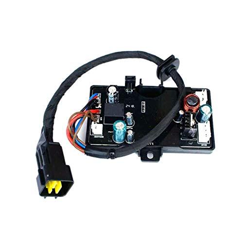 zhuzhu Scheda Madre della Scheda di Controllo del riscaldatore Air-Diesel 1pcs Adatta per Il riscaldatore dell'Aria 12v 3kw / 5kw (Color : Black)