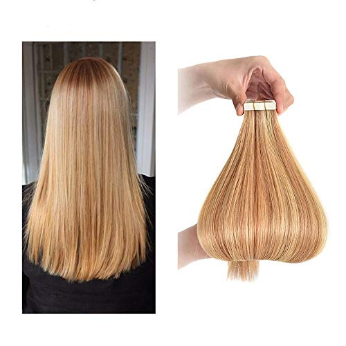RemeeHi 24 pulgadas cinta en extensiones de cabello humano 20 unids 2.5g/pc 100% invisible sedoso recto Remy extensión de cabello real 99j# vino tinto