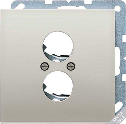 Jung LS990 - plaat 2 antennes BNC high-end luidspreker donker aluminium gelakt