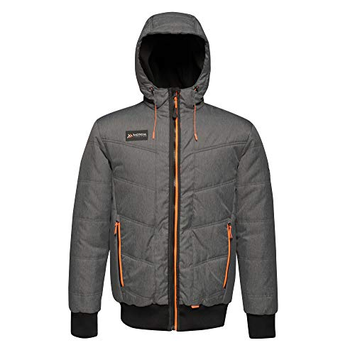 Regatta Blouson Aviateur Homme Tactical Threads isolant Thrust Baffled/Quilted Jackets Homme Seal Grey/Marl FR: 3XL (Taille Fabricant: XXXL)