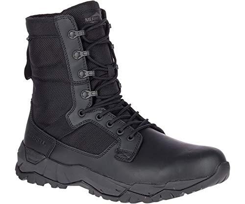 Merrell Mqc Patrol Work Waterproof Unisex Boots, Black, 7, Wide Width