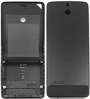 غطاء الهاتف المحمول الإسكان الكامل Full Housing Cover (Front Cover + Battery Back Cover) for Nokia 515(Black) الغطاء السكن...