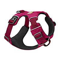Lightweight and durable Ruffwear dog harness made for all-day outdoor adventures and designed for easy attachment and removal. Suitable for Small dogs (22-27 in/56-69 cm) With 2 lead attachment points and reinforced webbing at chest to resist pulling...