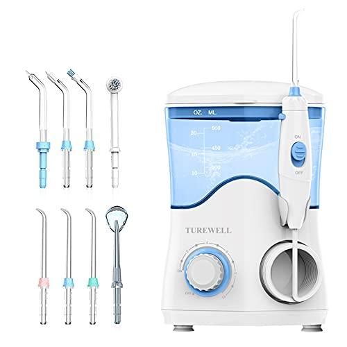 Water Dental Oral Irrigator for Teeth/Braces,10 Pressure...