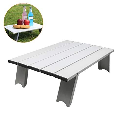 Weesey outdoor camping klaptafel ultralichte aluminiumlegering klaptafel voor binnen en buiten