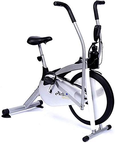 TEHWDE Spin Bike Belt Drive Ciclismo Indoor Ciclismo Fisso per Palestra Cardio Domestica con Comodo Cuscino del Sedile Pedale in Tessuto Multifunzionale Sport Fitness