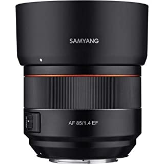 Samyang 85mm F1.4 High Speed Auto Focus Lens for Canon EF Mount, Black (SYIO85AF-C) (B07G5XZ3ZF)   Amazon price tracker / tracking, Amazon price history charts, Amazon price watches, Amazon price drop alerts
