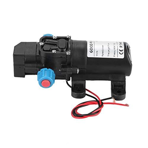 Mini-membraanpomp, waterpomp 12 V/60 W, micro-membraanpomp, 5 l/min, mini-vervanging voor camper-waterpomp