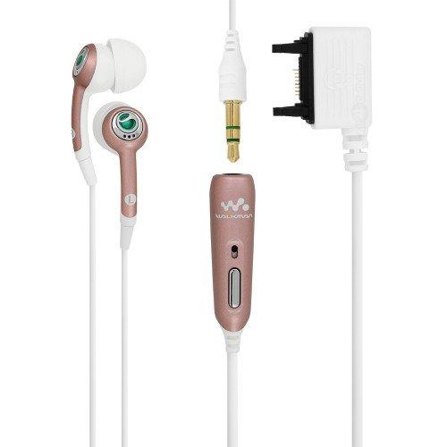 Sony Ericsson HPM-70 Stereo-Kopfhörer, Rosa / Weiß