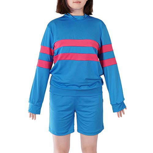 CoolChange Undertale Cosplay Kostüm von Frisk | Shirt & Hose | Größe: S