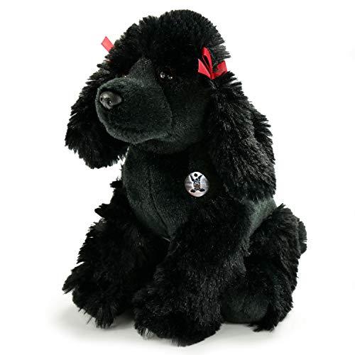 Pudel Bobby schwarz Plüschtier Plüschhund Plüschpudel 34 cm Kuscheltier