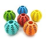 Promotech Bola para perros de 5 cm de diámetro con función de cuidado dental para perros pequeños y grandes
