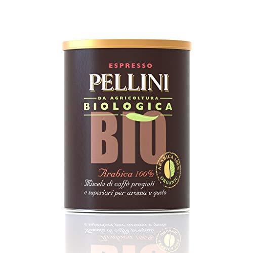 Pellini Caffè Molido 100% Bio Arábica - 3 Latas de 250 gr (750 gr)