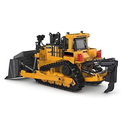 Ferngesteuertes Auto RC Truck 01.50 Planierraupe Modell Alloy Raupentechnik Gleis Auto Diecast Modell Spielzeug Konstruktionsspielzeug Kindergeburtstag und Urlaub Geschenke