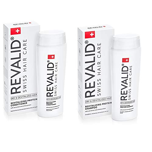 REVALID Shampoo 250ml + Conditioner 250ml FOR REGROWTH AND HEALTHY HAIR. VERY EFFEVTIVE !!! by Sw