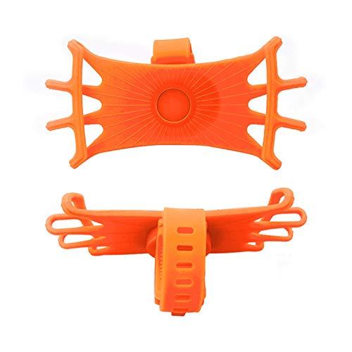 KEXQKN Accesorios de Coche Soporte de teléfono de la Bicicleta de la Motocicleta Universal Car Phone Bicycle Motorcycle Moder Mount Cradle para para Auto (Color Name : Orange)