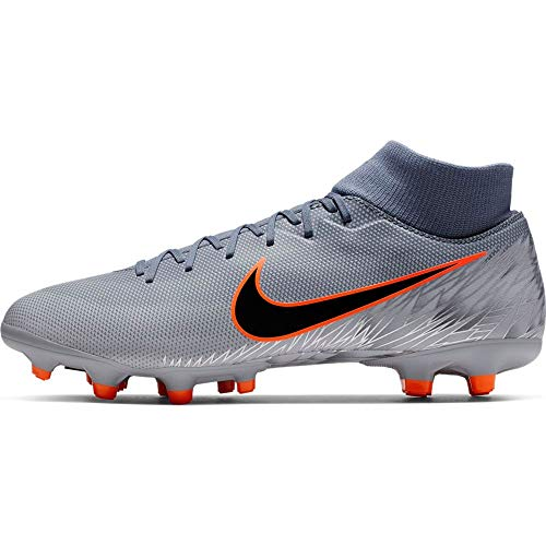 Nike Men's Mercurial Superfly 6 Academy MG Soccer Cleat Armory Blue/Black/Wolf Grey Size 10 M US