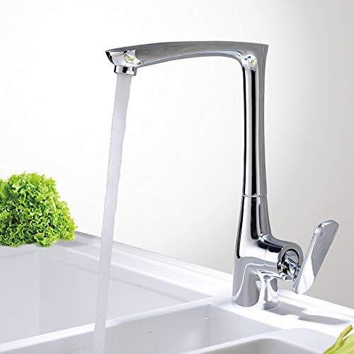 WJSW Wasserhahn Waschbecken Mischbatterie Wasserfall Wasserhahn Antik Badezimmer Die Kupfer küchenarmatur spülen Pool von warmen und kalten Geschirr und waschbecken waschbecken schwenkbar V